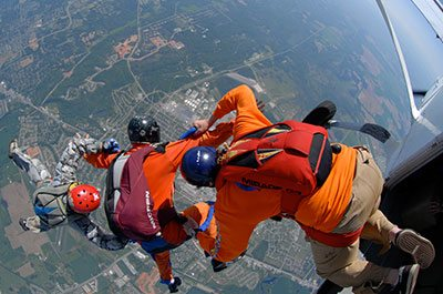 Dallas Skydiving Instructions