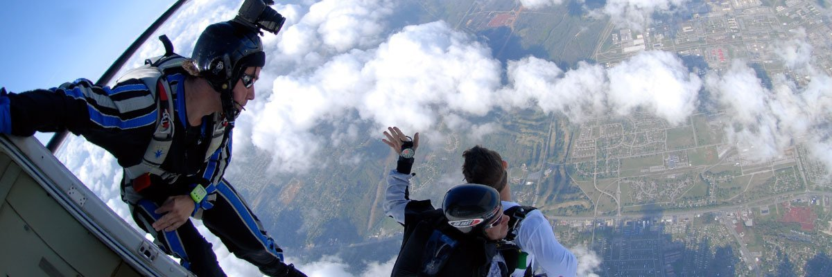 Alexandria Skydiving Video Packages