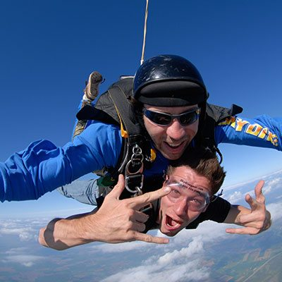 Tandem Skydiving in Alexandria