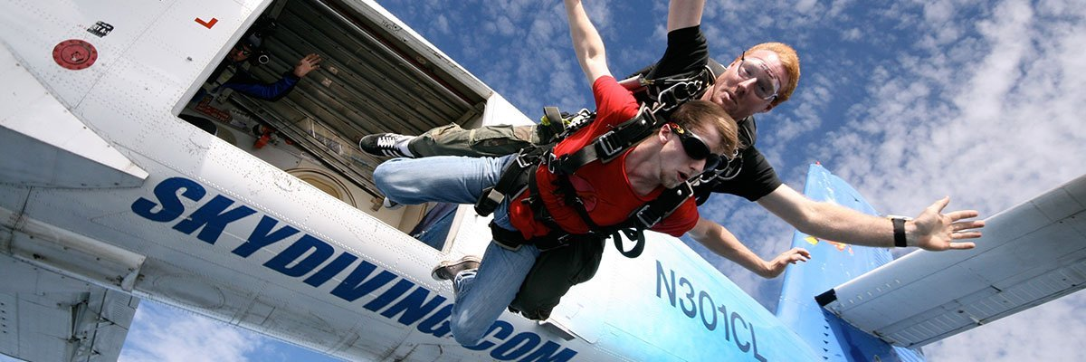 Knoxville, Tennessee Tandem Progression Skydiving Training