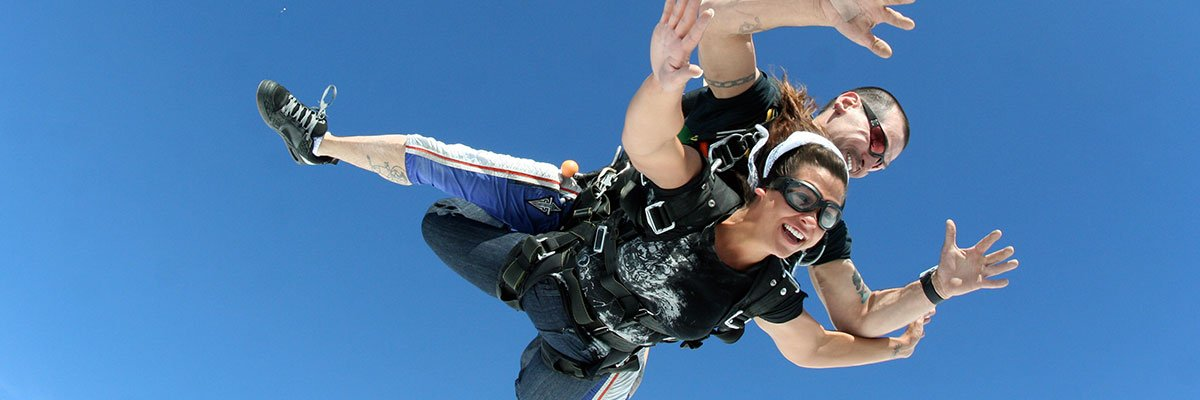 Tandem Skydiving in Alexandria, Virginia