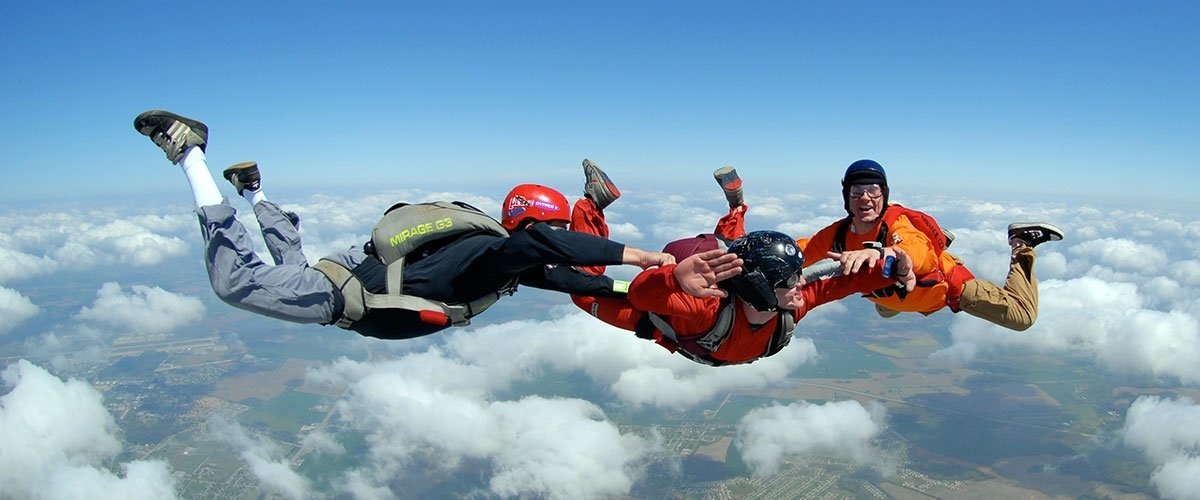 Rockford Skydiving - Accelerated Free Fall Training in Rockford, Illinois