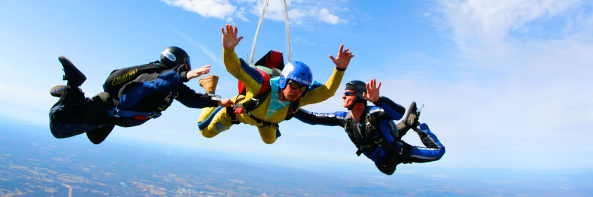 Complete Guide To Accelerated Free Fall Skydive Training Skydiving