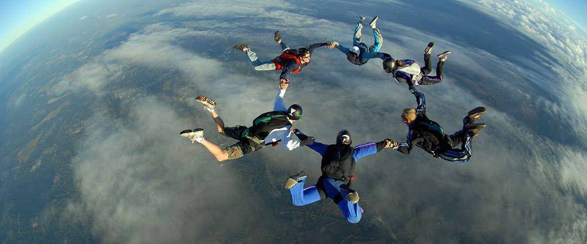 Advanced Skydiving Training in Hattiesburg, Mississippi