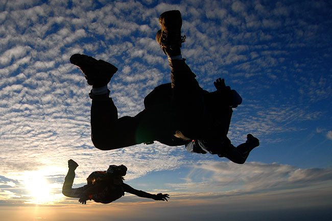 Advanced Skydive Training in Boulder, Colorado