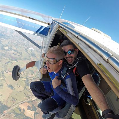 Tandem Skydiving near Chattanooga, Tennessee
