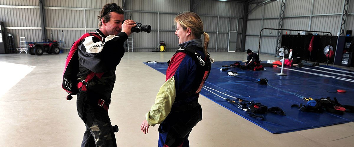 San Diego  Skydiving Video Packages