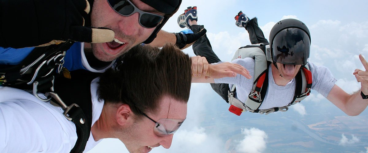 Boulder Tandem Progression Skydiving Training