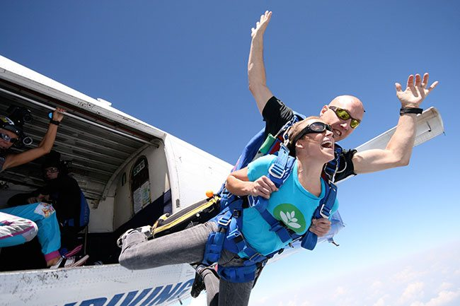 Tandem Skydiving near Charlotte, North Carolina