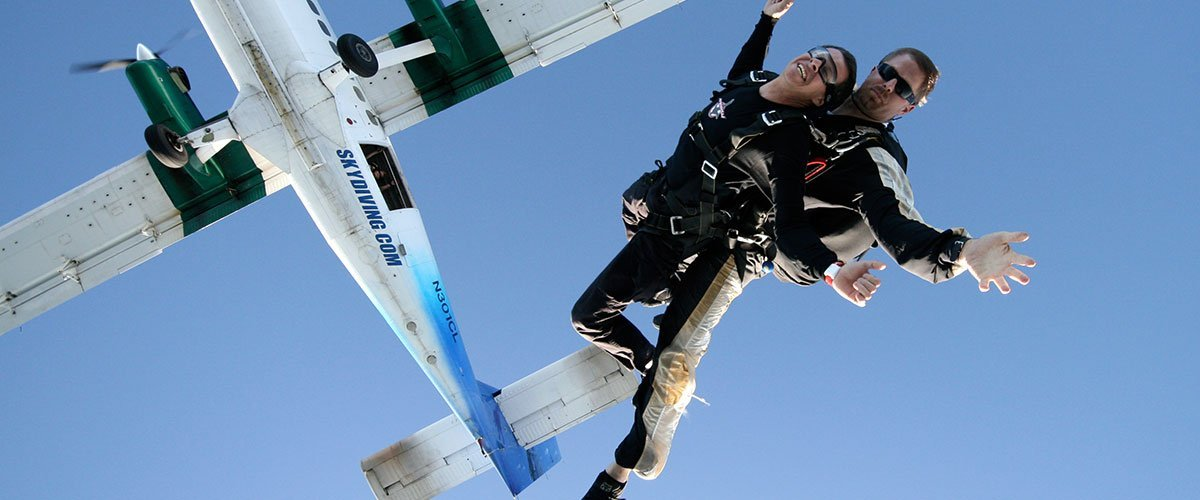 Tandem Skydiving - the Best Way to Start!