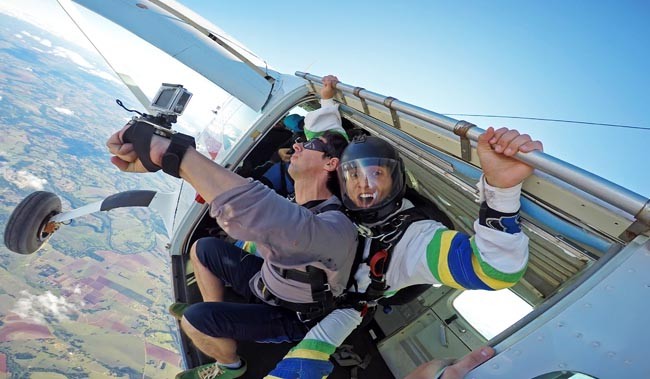 Skydiving in Clarksville, Tennessee