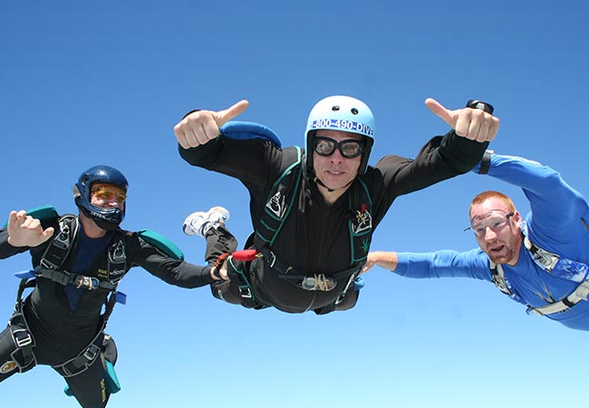 Advanced Skydive Training in  San Diego, California