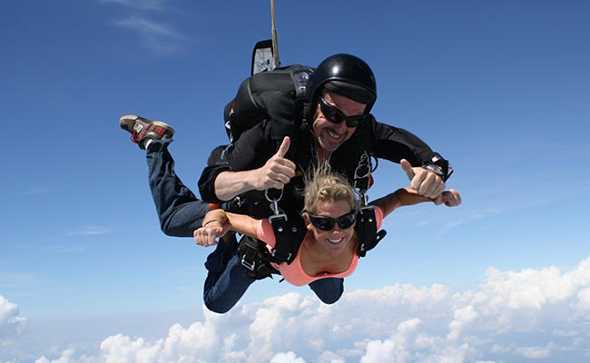 St. Petersburg Skydiving - Skydiving Video Packages - St. Petersburg, Florida