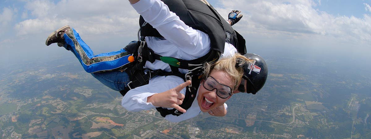 Elizabethtown Skydiving Video Packages