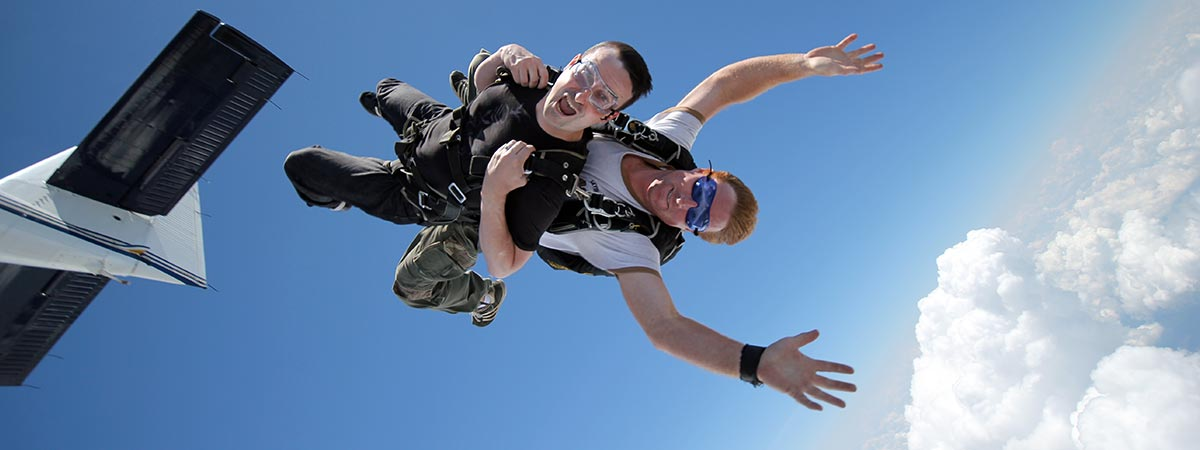 Elizabethtown, Kentucky Tandem Progression Skydiving Training