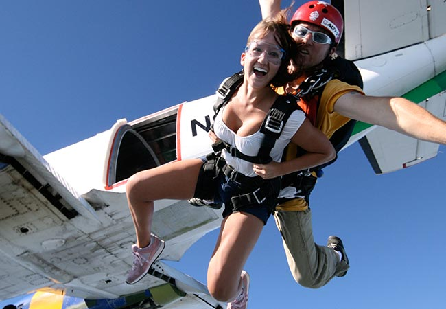 Skydiving Video Packages - L San Diego, California