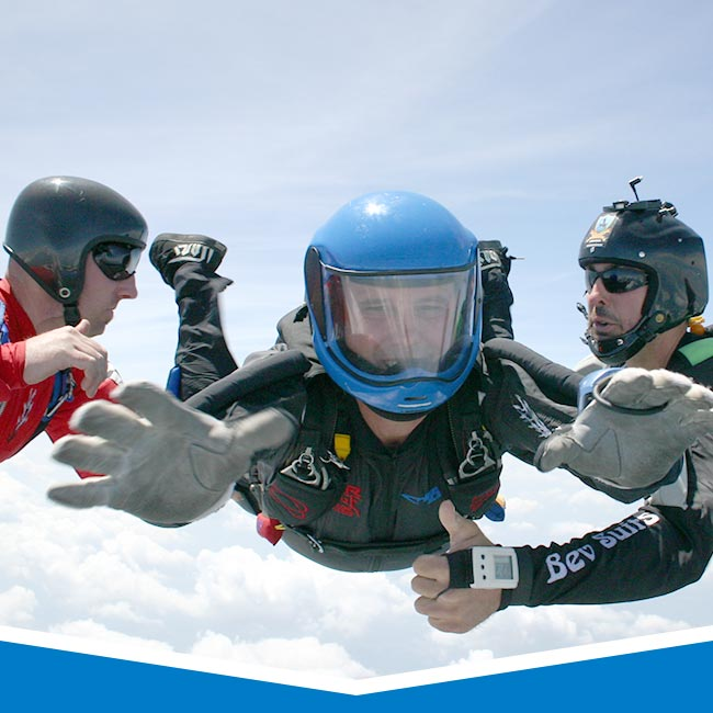 Advanced Skydive Training in Los Angeles, California
