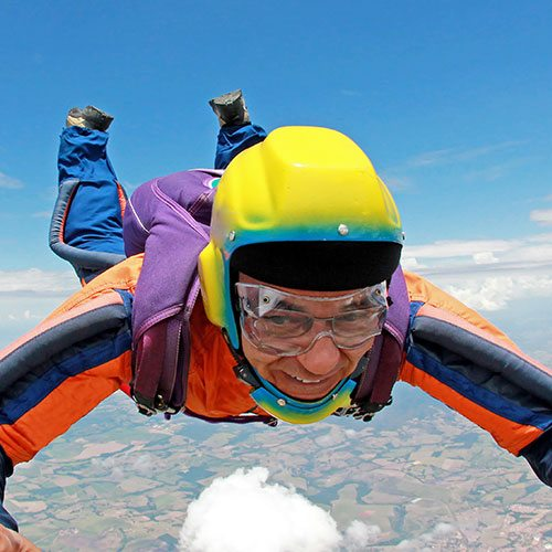 Senior Skydiver