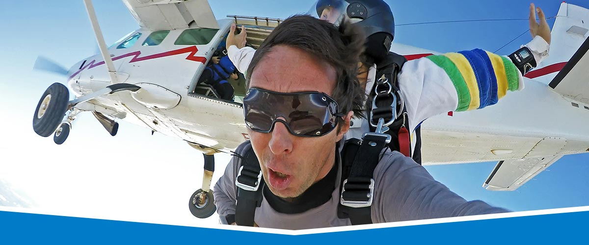 Los Angeles, California Skydiving Video Packages