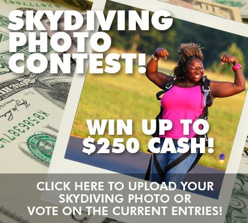 Enter the $250 Skydiving Photo Contest!